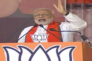 Chhattisgarh polls | 'Mother, son out on bail, giving certificate to Modi': PM targets Gandhis