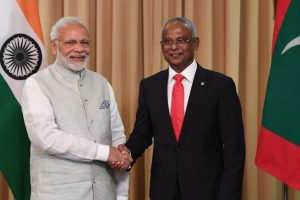 PM Modi attends swearing-in ceremony of new Maldives President