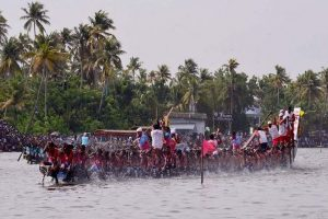 Kerala's Punnamada Lake all set for 66th Nehru Trophy boat race