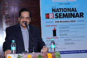 Sharda University organised second National HR Seminar with Human Resource Federation of India