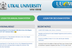Utkal University first semester results declared on uuems.in | Check now