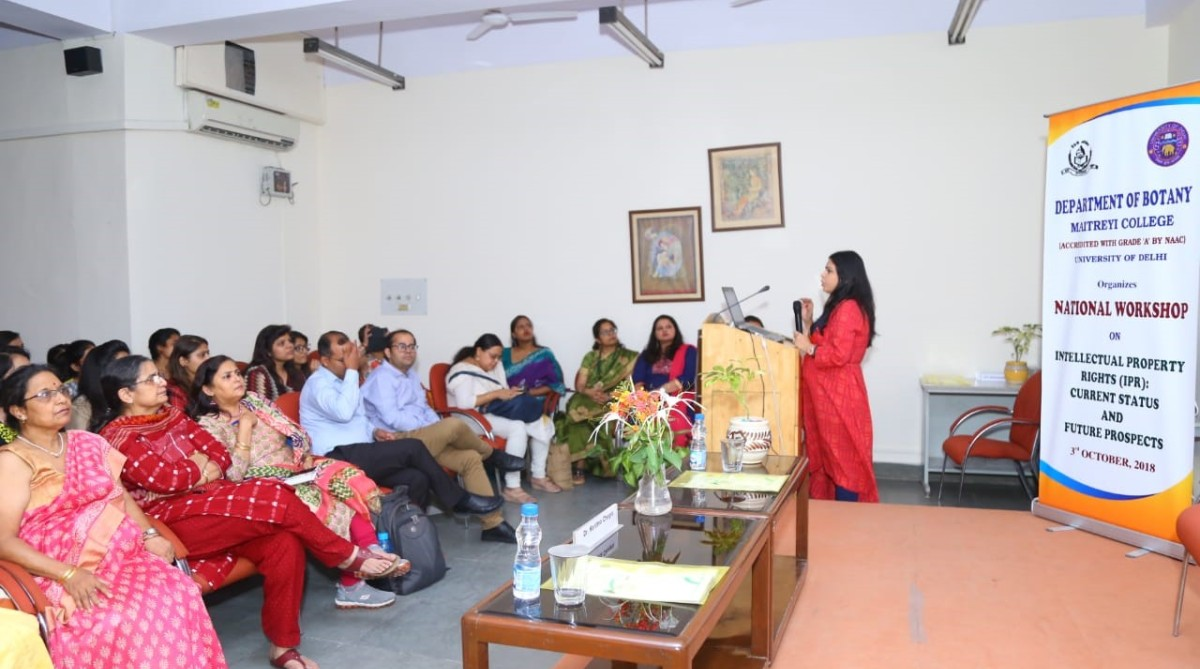 Maitreyi College, National Workshop on Intellectual Property Rights