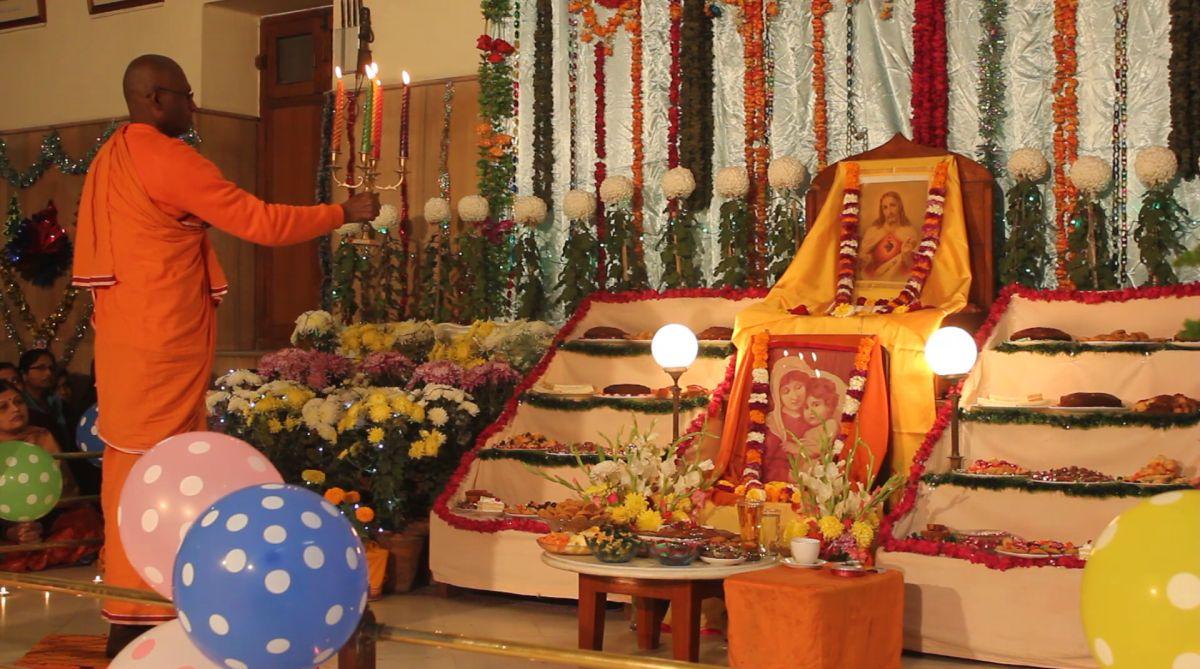 How Ramakrishna Mission celebrates Christmas