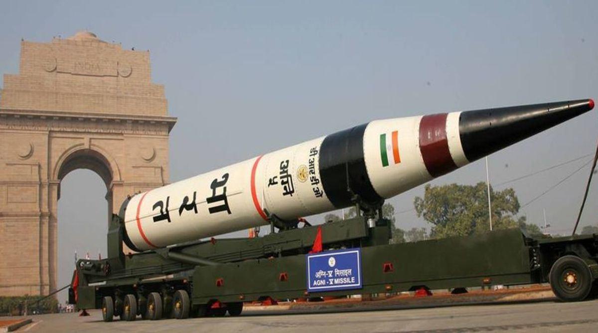 India, Nuclear-capable, Agni V, ballistic Missile, Agni V test