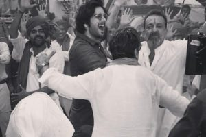 Prassthanam: Ali Fazal matches steps with Sanjay Dutt in a special song