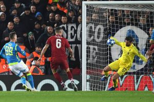 Alisson Becker save, Mohamed Salah strike take Liverpool into Champions League last 16