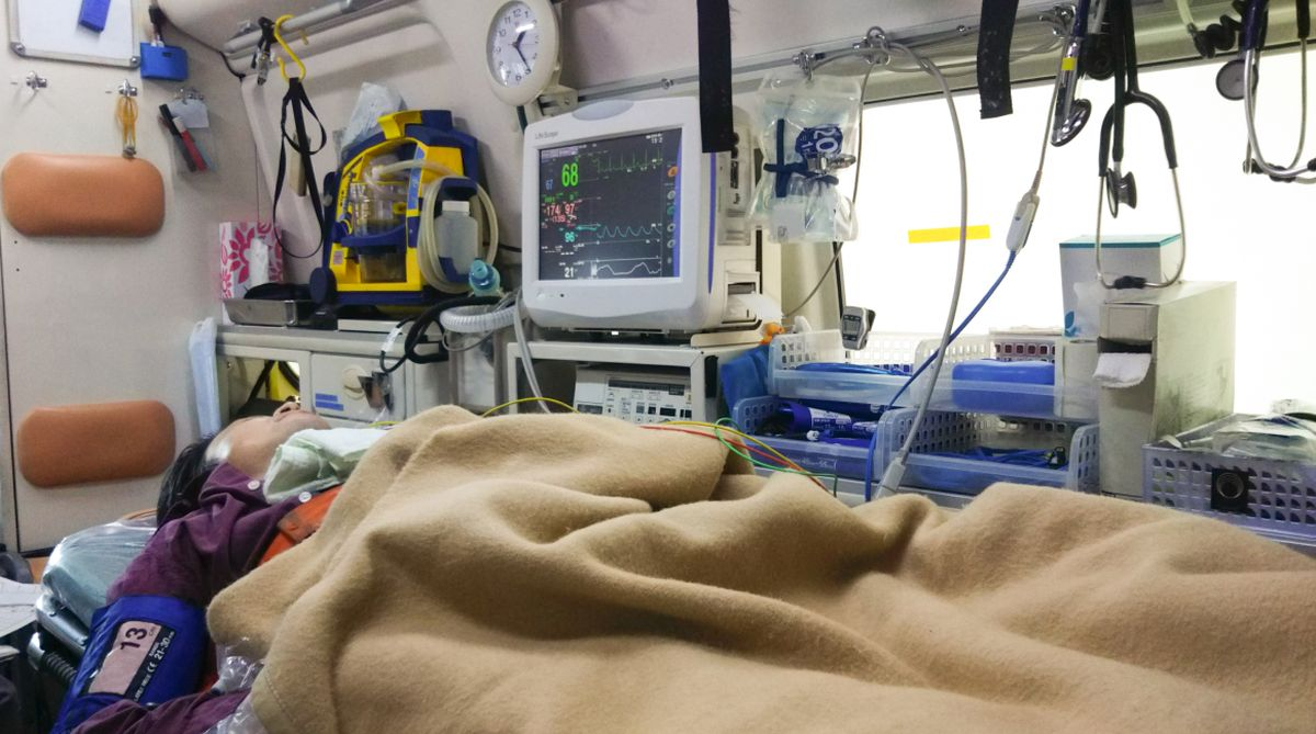 Why in-ambulance emergency facilities are important for patient survival
