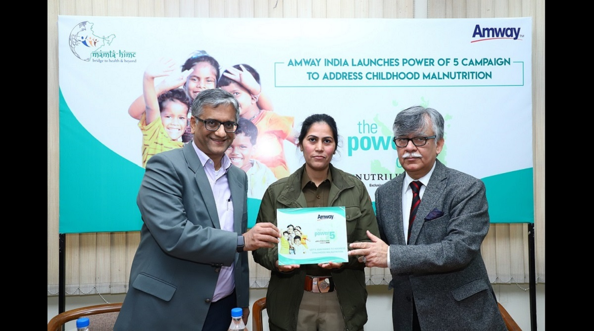 Amway India launches 'Power of 5' campaign to address childhood malnutrition in India