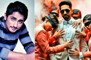 Siddharth keen to remake AndhaDhun in Tamil; Ayushmann Khurrana gives approval