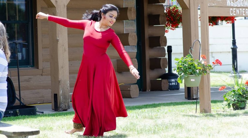 Anindita Anaam, Kathak, Anindita Neogy Anaam, Jaipur Gharana, Lucknow Gharana, Wisconsin, Indian arts, Delhi International Arts Festival 2018, Uma Sharma School of Dance