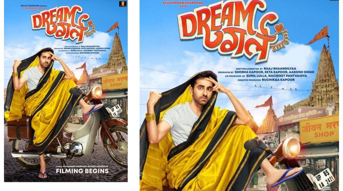 Dream Girl first look: Ayushmann Khurrana avatar will leave you in splits