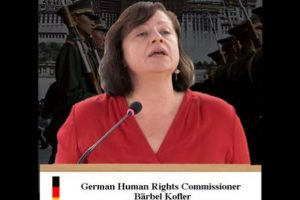 German activist terms human rights situation in Tibet as critical