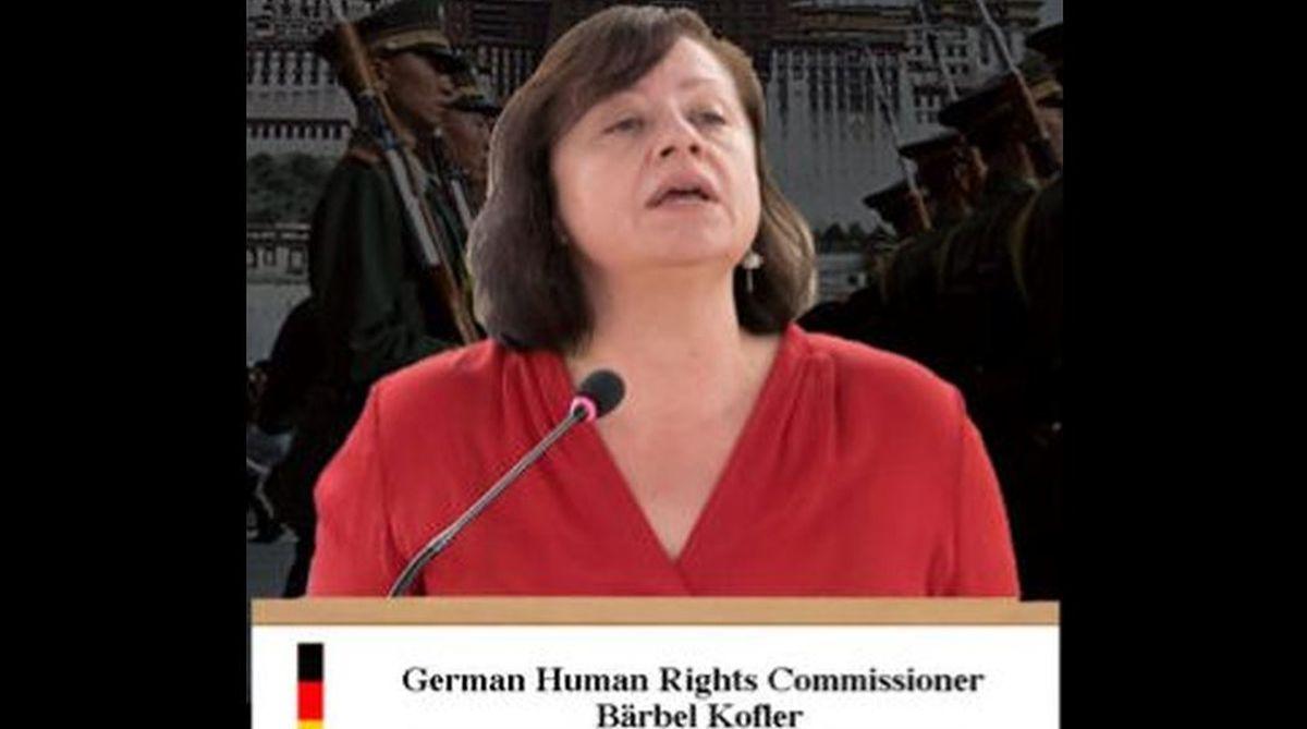 human rights,Barbel Kofler,German activist,German-Chinese Human Rights Dialogue, Chinese government