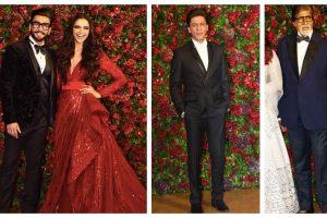 Ranveer Singh makes Shah Rukh Khan, Amitabh Bachchan dance at his reception | See videos