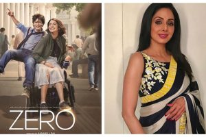 Zero: Shah Rukh Khan speaks about Sridevi's cameo