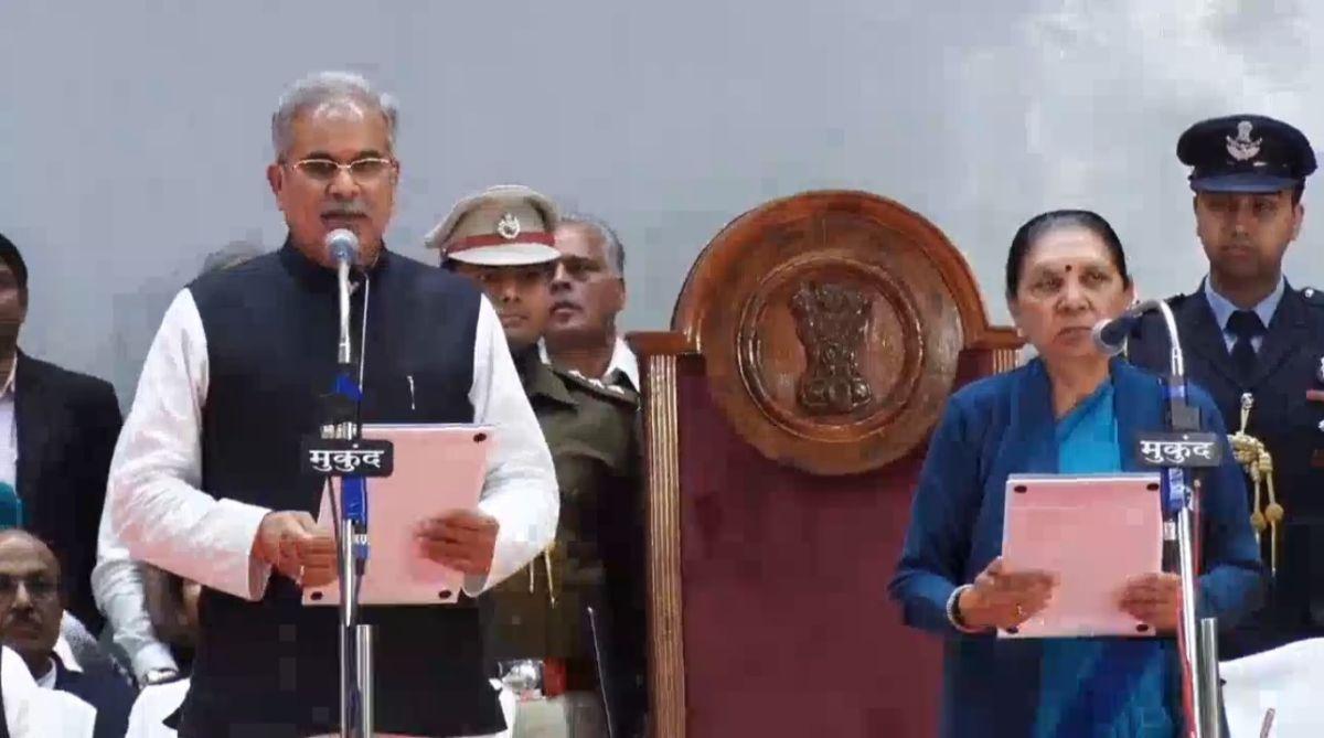 Chhattisgarh, Bhupesh Baghel, Congress,Governor Anandiben Patel,PL Punia, Raman Singh