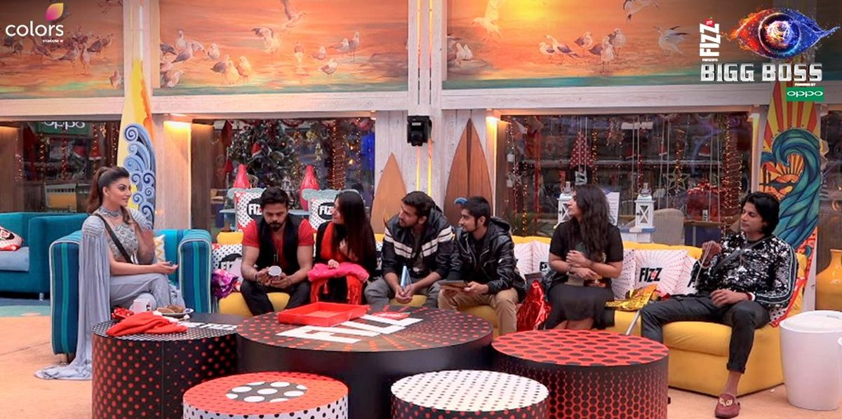 Bigg Boss 12, Day 99, December 24: Urvashi Rautela turns Santa Claus for housemates