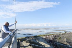 PM Modi inaugurates Bogibeel Bridge, India's longest railroad bridge