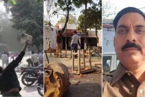 Cop dies in violence over alleged cow slaughter in Uttar Pradesh's Bulandshahr