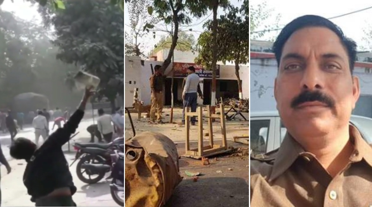 Cop, Cow slaughter, Uttar Pradesh, Bulandshahr