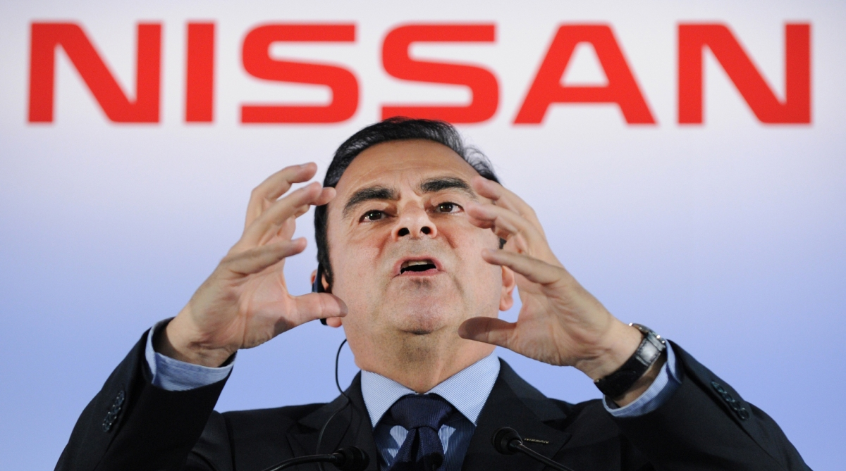 Nissan, Nissan chief, Carlos Ghosn, Detention,