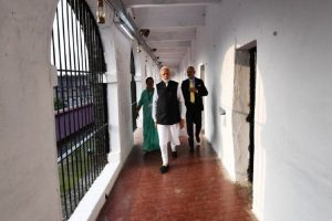 PM Modi visits Andaman and Nicobar Islands; unveils series of development projects