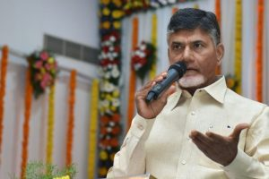 PM Modi a 'hollow man' spending 'tonnes of money' to win polls: Chandrababu Naidu