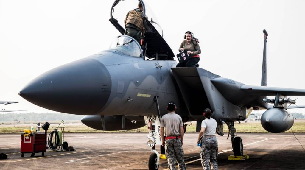 Ex Cope India-18, Ex Cope India 2018, India-US bilateral air warfare, Kalaikunda IAF base, Air Force Station, Air Chief Marshal Birender Singh Dhanoa,