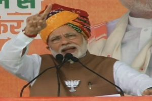 Kartarpur Sahib in Pakistan due to mistakes committed by 'greedy' Congress: PM Modi in Rajasthan