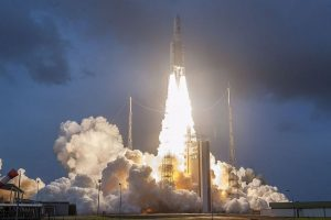 ISRO launches India's heaviest, most powerful satellite GSAT-11 from French Guiana