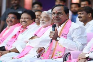 K Chandrasekhar Rao sworn-in as Telangana CM for second straight time