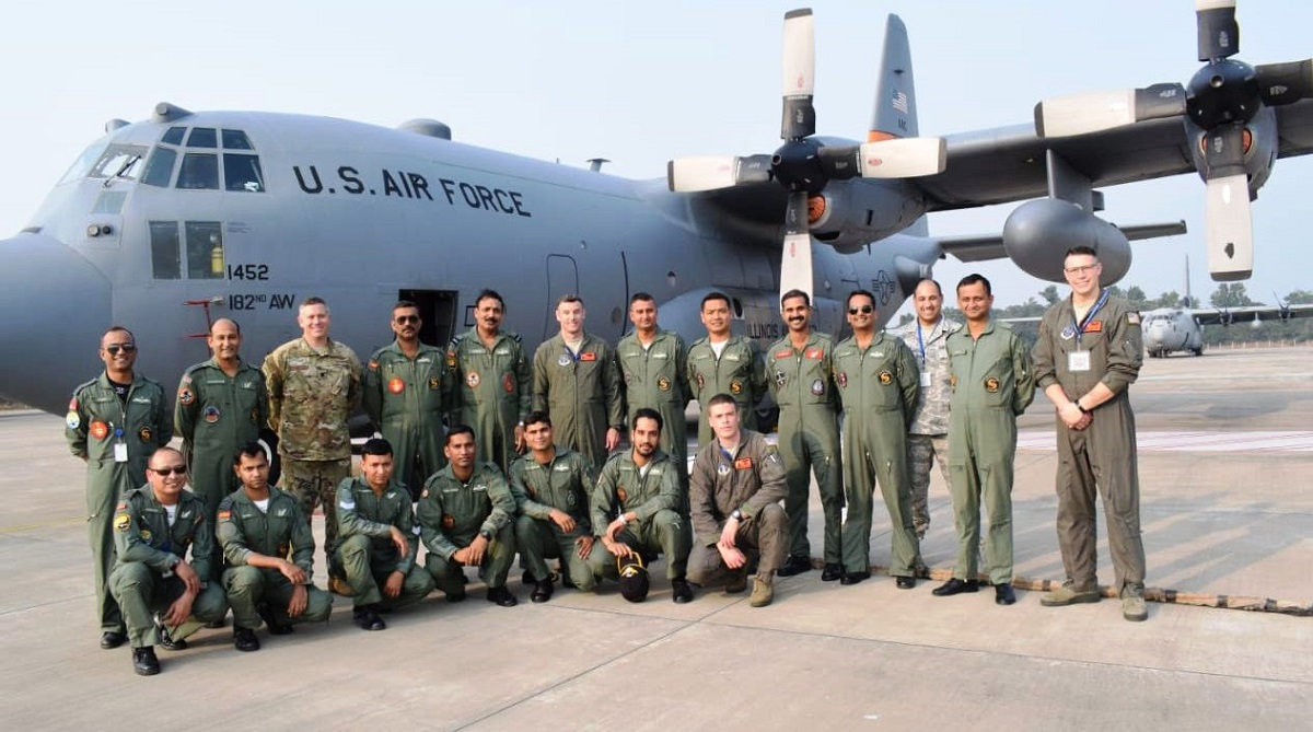 Ex Cope India 2018: Glimpses of operations from AFS Panagarh - A testimony to growing India-US military relationship