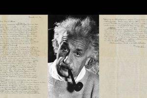 Einstein's 'God letter' fetches $2.9 million at Christie's