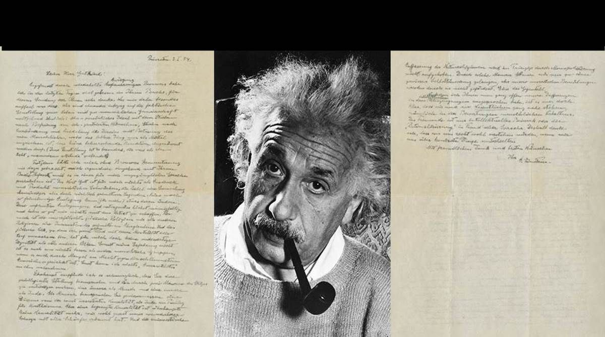 Einstein, god letter, Christie's Rockefeller Center auction, Christie's, Eric Gutkind