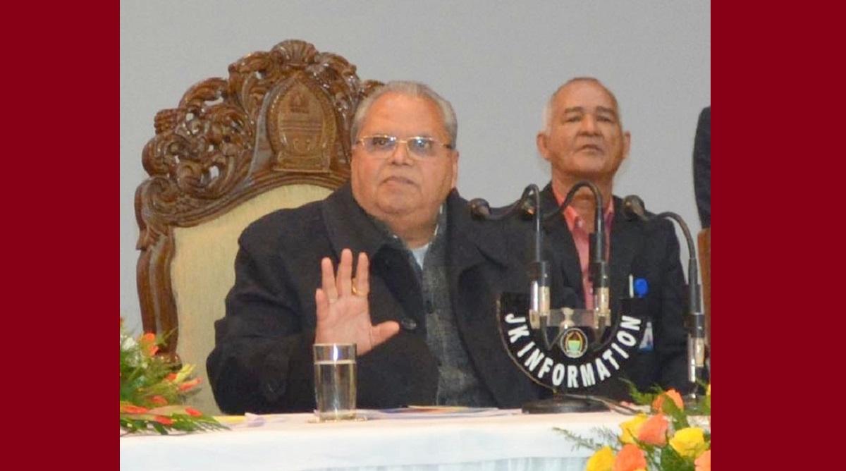 No political agenda but development of entire Jammu and Kashmir, says Governor Malik