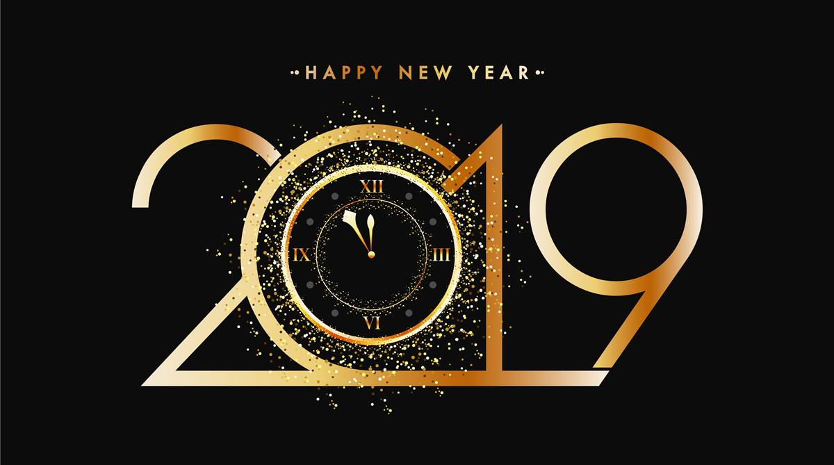 Happy 2019 >> Happy New Year 2019 Best New Year Wishes Images Sms Facebook