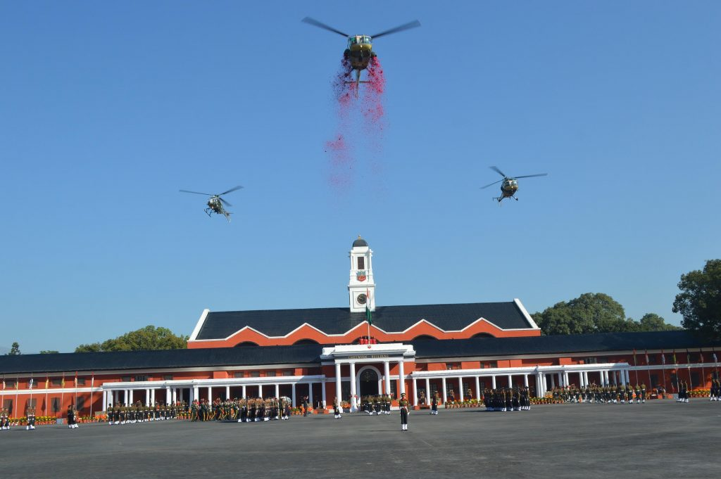 New crop of young officers pass out from Indian Military Academy in Dehradun