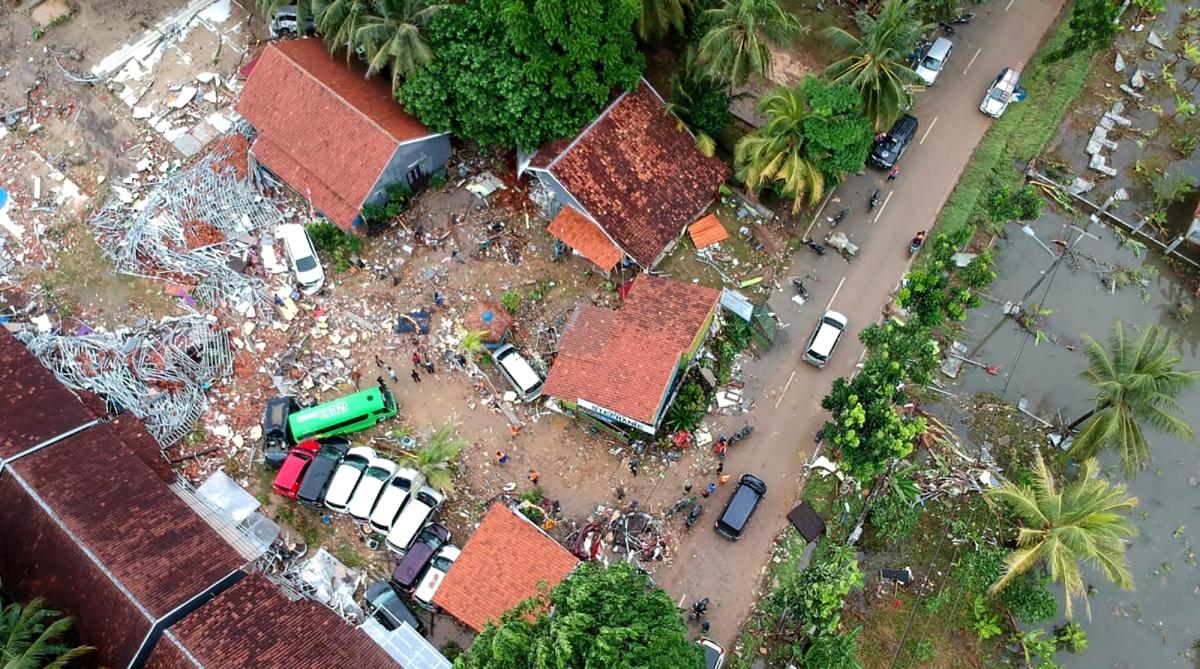 Death toll, Indonesia, Tsunami, Anak Krakatoa