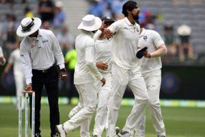 Ishant Sharma and Ravindra Jadeja argue on field during second Test