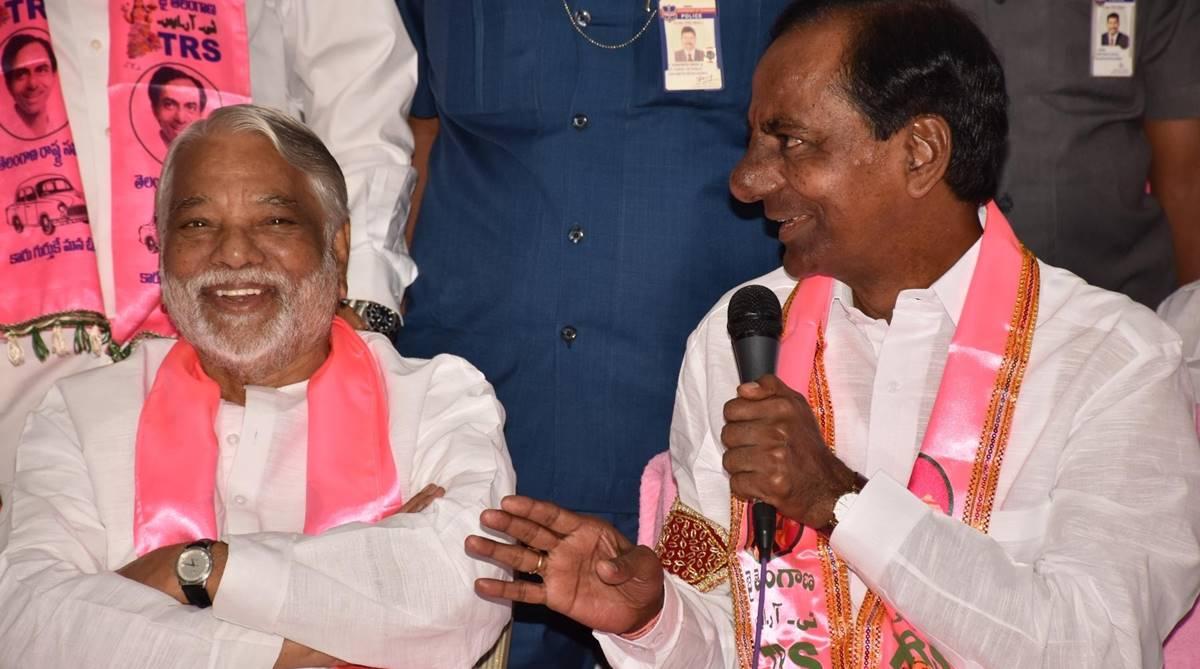 K ChandrasekharRao, TelanganaRashtra Samithi, Telangana Assembly poll results, KCR, Harish Rao, Telanganaresults, Assembly Elections 2018, KT Rama Rao, Praja Kutami, TDP, NChandrababu Naidu