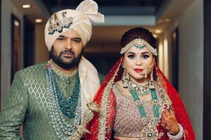 Just married: Kapil Sharma and Ginni Chatrath
