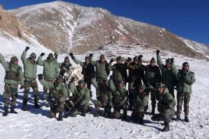 GOC-in-C visits Karakoram Pass along Indo-China border