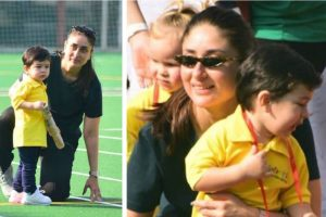 Little munchkin Taimur Ali Khan's sports day at school | See pictures