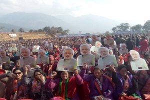 Cong 'misleading' farmers on loan waiver: PM Modi in Himachal Pradesh