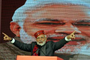 Opponents are scared of 'chowkidar': Modi at Dharamsala rally