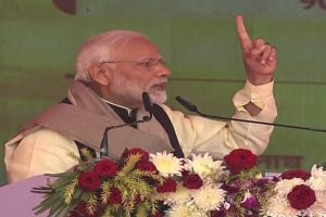 PM Modi attacks Congress in UPA chairperson Sonia Gandhi's bastion Rae Bareli