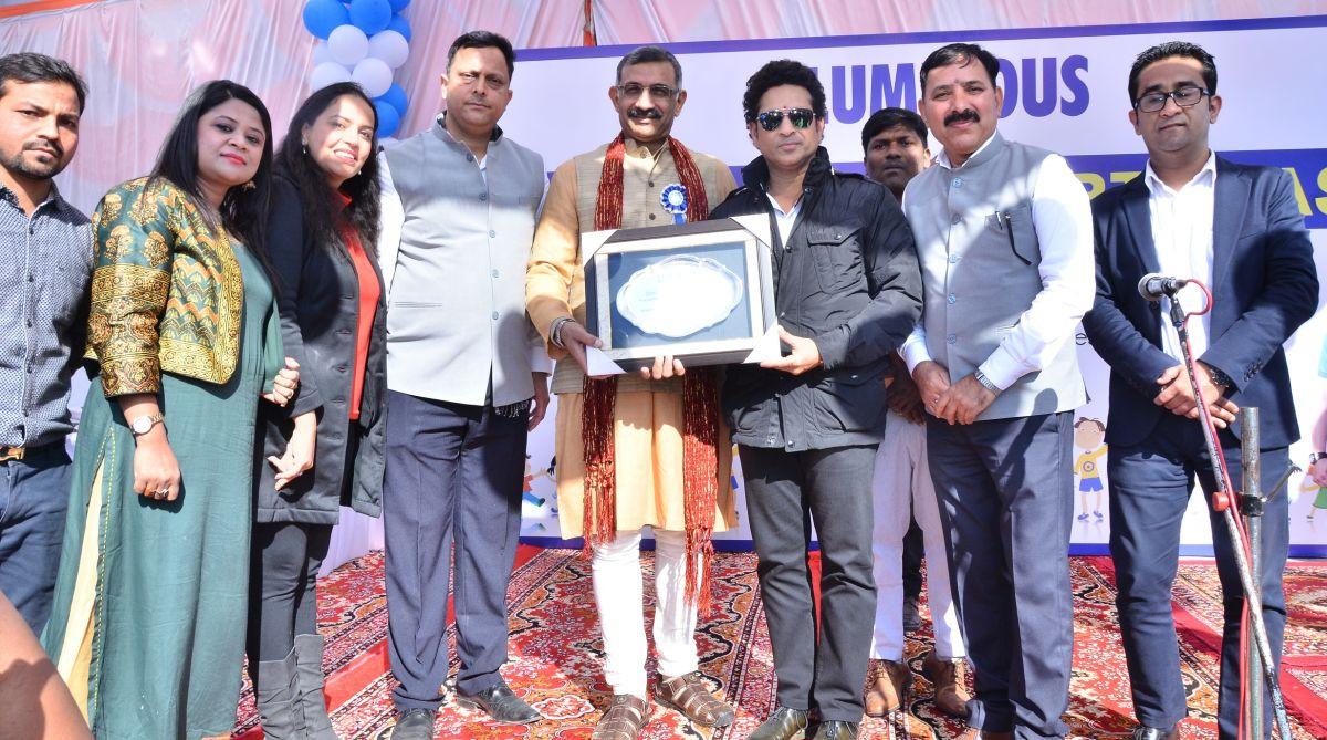 Sachin Tendulkar,Model School project,Rakesh Kumar Prajapati,Himachal Pradesh,Indian cricket