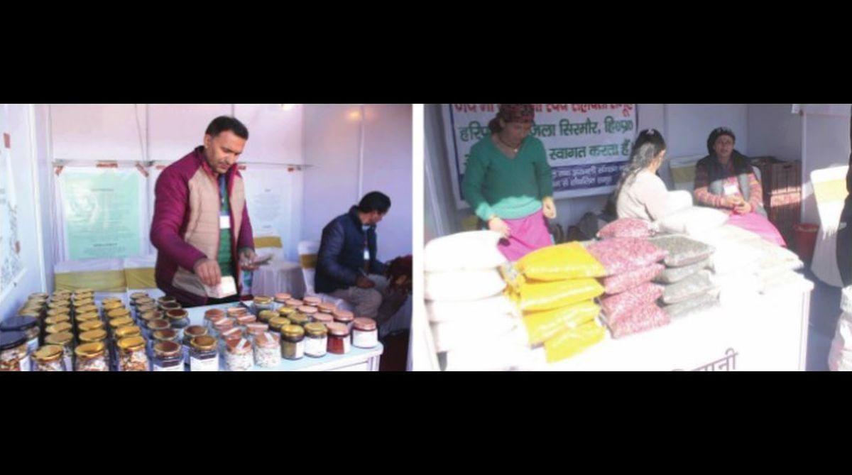 NABARD, Gramya Utpadya Mela, self-help groups,Himachal Pradesh,Pangi Hills,Ravi Bhimta
