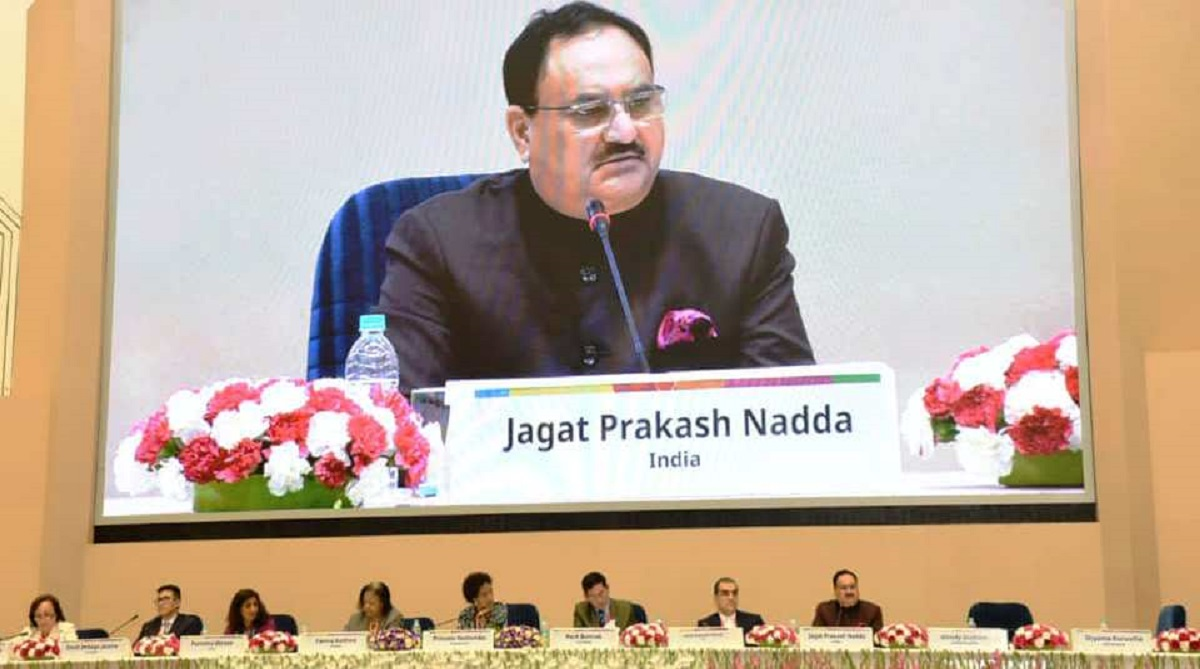 Partners' Forum 2018: Health Minister JP Nadda addresses Ministerial Conclave
