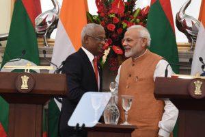 India announces $1.4 billion financial assistance to Maldives